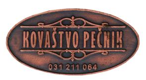 UMETNO KOVAŠTVO VLADIMIR PEČNIK S.P.